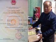 """Vì sao PGS Bùi Hiền được cấp bản quyền cải tiến  tiếw Việt """" ?"""