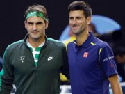 Trực tiếp tennis Australian Open 20/1: Federer - Djokovic dễ thở, Sharapova gặp khó