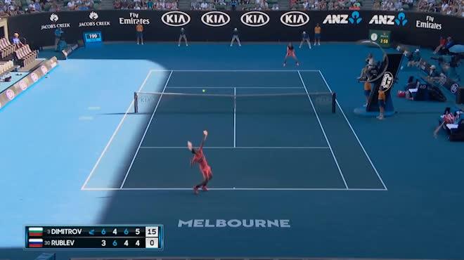 """Kiệt tác Australian Open: Xuất chiêu chém bóng quá ảo, """"Tiểu Federer"""" sấp mặt"""
