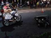 Truy đuổi người vi phạm, xe CSGT tông chết người
