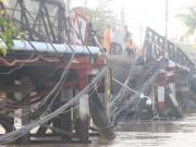 Tài xế xe tải làm cầu Long Kiển sập phớt lờ tín hiệu dừng