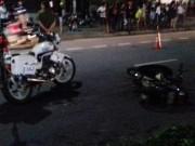 Nóng 24h qua: Xe CSGT tông chết người băng qua đường trong đêm