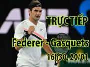 TRỰC TIẾP tennis Federer - Gasquets: Mồi ngon trên sân cứng