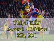 TRỰC TIẾP bóng đá Arsenal - Crystal Palace: Cần phải tỉnh giấc