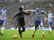 """Video, kết quả bóng đá Brigton - Chelsea: 2  """" cú đấm """"  6 phút  (Vòng 24 Ngoại hạng Anh) (H1)"""