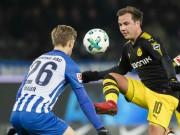 """Hertha Berlin - Dortmund:  """" Người hùng châu Á """" , thoát hiểm gang tấc"""