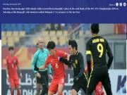 U23 Hàn Quốc vất vả với U23 Malaysia: Báo chí tiếc nuối, fan tự hào