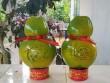 Cận cảnh 3.000 trái dừa hồ lô in chữ nổi giá lên tới 600.000đ/trái