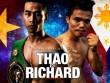 """Đại chiến boxing:  """" Mayweather Việt """"  vô địch châu Á đấu  """" hậu duệ """"  Pacquiao"""