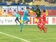 """U23 Malaysia thua 12 giây, ức chế đạp """"vỡ ngực"""" thủ môn Hàn Quốc"""