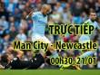 TRỰC TIẾP bóng đá Man City - Newcastle: Áp lực từ MU