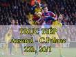 Chi tiết Arsenal - Crystal Palace: Nỗ lực bất thành (KT)