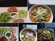 Top những món ăn hút nghìn lượt  like  trên mạng xã hội tuần qua