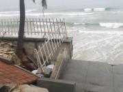 Cận cảnh bờ biển quyến rũ nhất hành tinh bị sạt lở nghiêm trọng