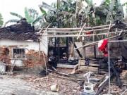 Người bố nói lý do vì sao con trai đổ xăng đốt nhà