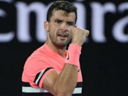 """Australian Open 21/1: Dimitrov """"đấu súng"""" nghẹt thở vào tứ kết"""