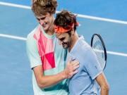 Tin thể thao HOT 21/1: Federer hé lộ lời khuyên cho Zverev