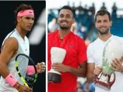 "Trực tiếp Australian Open 21/1: Nadal dễ thở,  "" tiểu Federer '  đấu  "" trai hư """