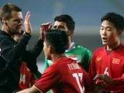 """U23 Việt Nam: HLV Park Hang Seo  """" cạn lời """"  với trọng tài Úc"""
