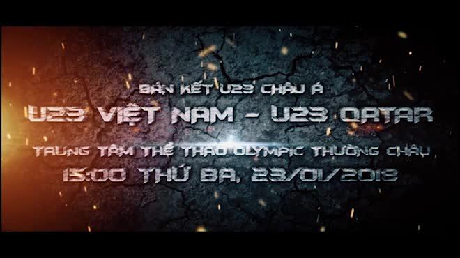 U23 Việt Nam - U23 Qatar: Hiên ngang tiến bước đến giấc mơ Vàng