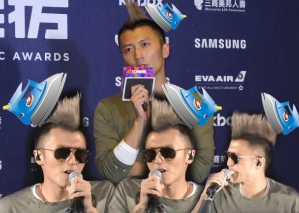 Tạ Đình Phong khiến fan phát hoảng vì màn là tóc tai kè bàn ủi - 5