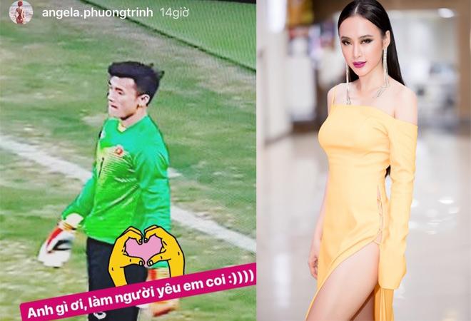 """Phương Trinh, hoa hậu Mỹ Linh """"thả thính"""" Bùi Tiến Dũng - 1"""