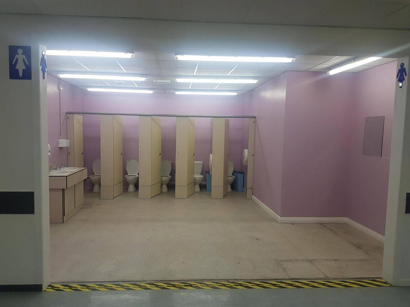"""Sốc cùng toilet nữ """"tơ hơ"""" ở dài Anh - 1"""
