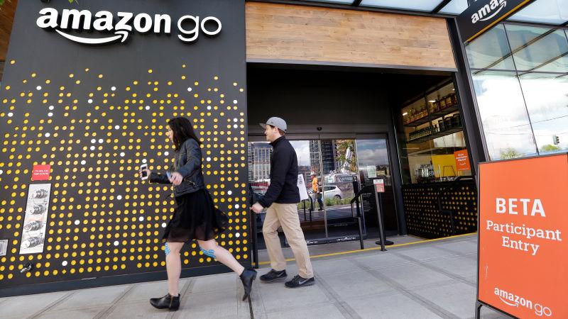 """""""Phát sốt"""" với cửa hàng không quầy tính tiền mới khai trương của Amazon - 2"""
