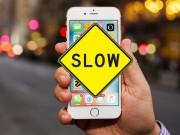"""Nhận biết dấu hiệu iPhone của bạn đang bị Apple """"hãm hại"""""""