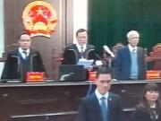 Đang tuyên án vụ ông Đinh La Thăng, Trịnh Xuân Thanh