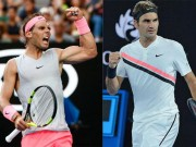 "Bảng xếp hạng tennis 22/1: Australian Open, Federer  "" hết cửa ""  vượt Nadal"