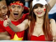 1001 cách mặc sexy của chị em khi cổ vũ tuyển bóng đá Việt Nam
