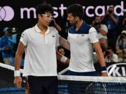 """Djokovic thua thảm Australian Open: Bội phục  """" Siêu nhân châu Á """""""