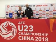 """Họp báo bán kết U23 Việt Nam - U23 Qatar: HLV Park Hang Seo  """" khai chiến """""""