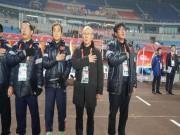 """Trực tiếp họp báo bán kết U23 Việt Nam - U23 Qatar: HLV Park Hang Seo """"khai chiến"""""""