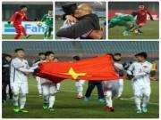 """U23 Việt Nam gây  """" địa chấn """"  châu Á: Những dấu mốc chói lọi"""