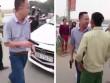 Chủ tịch xã thông tin về clip tài xế ô tô Mazda rút súng dọa người dân