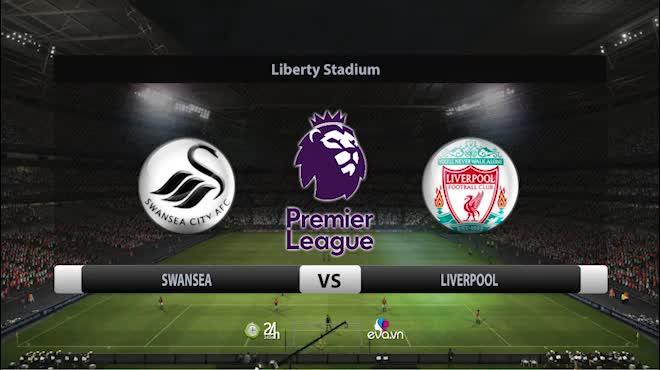 Swansea City - Liverpool: Thót tim đến phút bù giờ