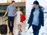 Lan Phương có thai 5 tháng sau 6 tháng hẹn hò với bạn trai ngoại quốc