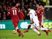 """TRỰC TIẾP Swansea - Liverpool:  """" Lữ đoàn đỏ """"  ép sân"""