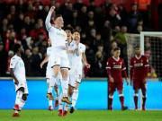 Chi tiết Swansea - Liverpool: Cột dọc oan nghiệt tước bàn thắng (KT)