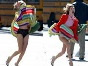 Làm thế nào để tránh tai nạn gió lùa tốc váy?