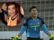 Giọt nước mắt hạnh phúc của bố thủ môn Bùi Tiến Dũng
