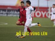 TRỰC TIẾP U23 Việt Nam - U23 Qatar: HLV Park Hang Seo chơi tất tay