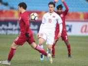 TRỰC TIẾP U23 Việt Nam - U23 Qatar: Phòng ngự lì lợm, chờ ngòi nổ Quang Hải - Công Phượng