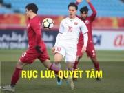 TRỰC TIẾP U23 Việt Nam - U23 Qatar: Công Phượng uy hiếp, U23 Việt Nam chiếm thế chủ động
