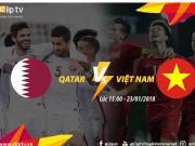 Cách xem trận bán kết U23 Việt Nam - U23 Qatar tại văn phòng