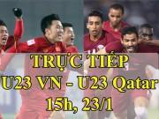 TRỰC TIẾP bóng đá bán kết U23 Việt Nam - U23 Qatar: Park Hang Seo biến ảo khôn lường