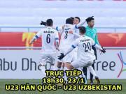 Chi tiết U23 Hàn Quốc - U23 Uzbekistan: U23 Việt Nam gặp hàng khủng (KT)