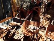 Hầm vàng hơn 100m ngụy trang trong rẫy chanh dây